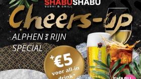 Cheers-up Special bij Shabu Shabu
