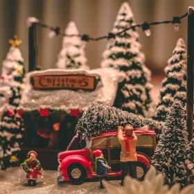 Kerstmuziek bij Winkelcentrum de Baronie