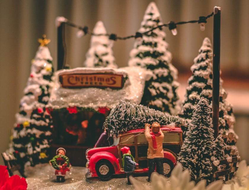 Kerstmuziek in Winkelcentrum de Baronie