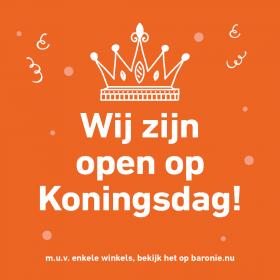 Koningsdag open