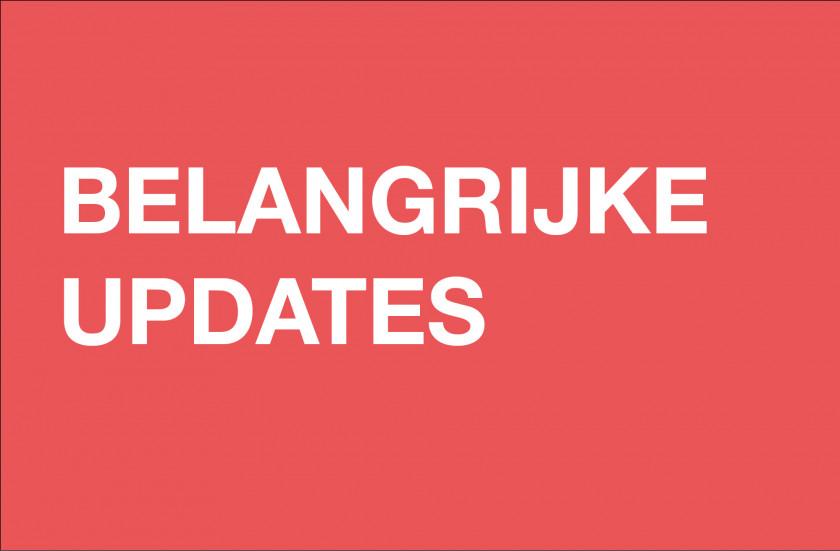 Belangrijke updates
